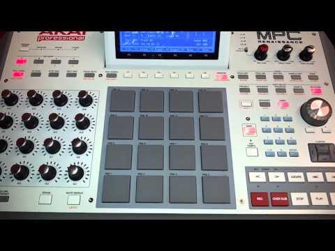MPC Renaissanceat Itec Audio Studios